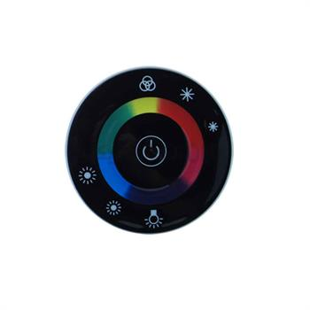TOUCH SCREEN LED RGB RF 18Aریموت گرد